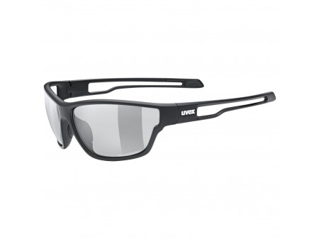 Brilles Uvex Sportstyle 806 Variomatic black mat / smoke