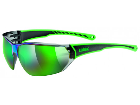 Brilles Uvex Sportstyle 204 black green