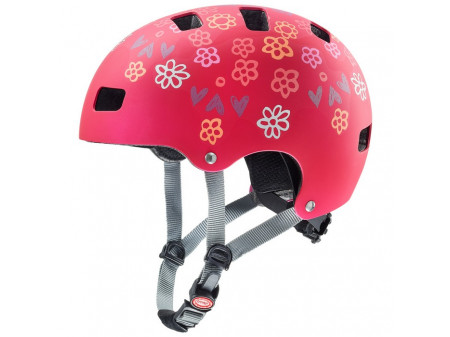 Velo ķivere Uvex Kid 3 cc dark red