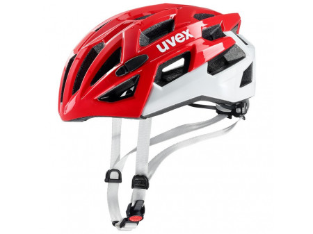 Velo ķivere Uvex Race 7 red white