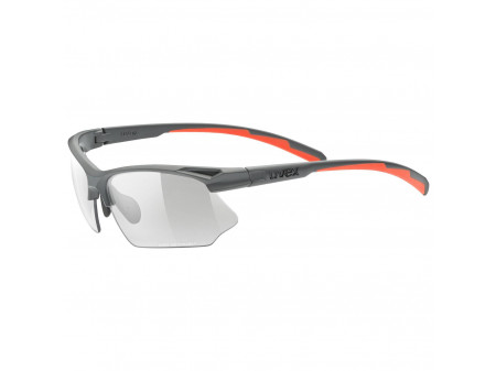 Brilles Uvex Sportstyle 802 Variomatic grey mat / smoke