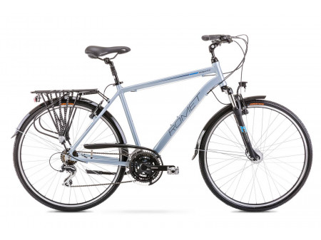 Velosipēds Romet Wagant 3 2020 silver-blue