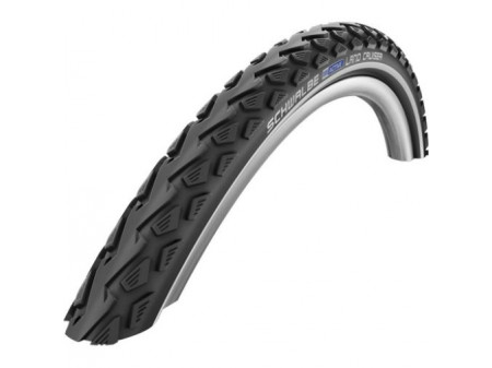 "Riepa 28"" Schwalbe Land Cruiser HS 450, Active Wired 42-622 Black-Reflex"