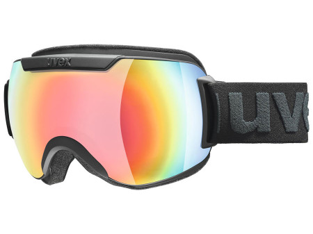 Brilles Uvex Downhill 2000 FM black mat / rainbow
