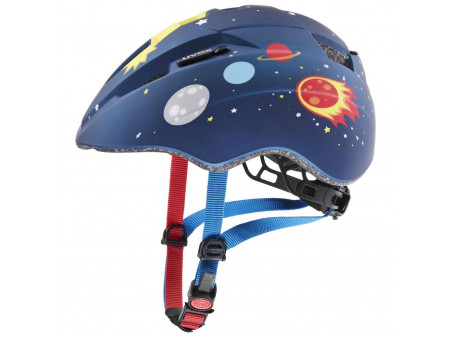 Velo ķivere Uvex Kid 2 cc dark blue rocket mat