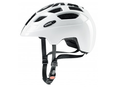 Velo ķivere Uvex Finale Junior LED white-black