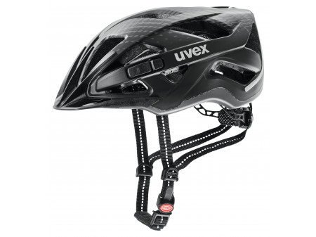Velo ķivere Uvex City active black mat-52-57CM