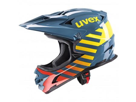 Velo ķivere Uvex hlmt 10 bike blue fire