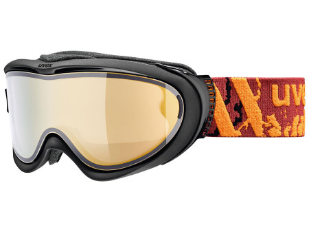 Brilles Uvex Comanche TOP black mat / gold