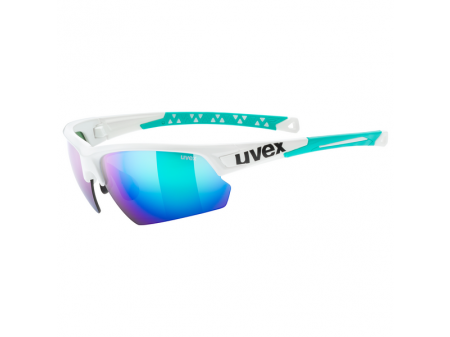 Brilles Uvex Sportstyle 224 white green