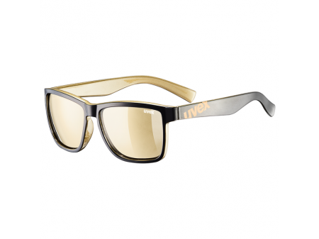 Brilles Uvex lgl 39 black gold