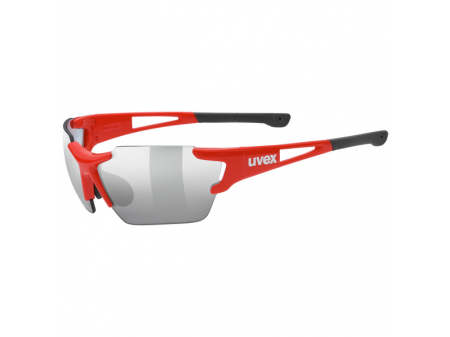 Brilles Uvex Sportstyle 803 race variomatic small red