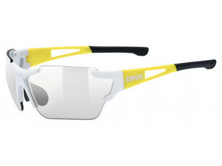 Brilles Uvex Sportstyle 803 Race vm white yellow