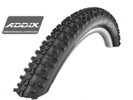"Riepa 27.5"" Schwalbe Smart Sam HS 476, Perf Wired 60-584 Addix"