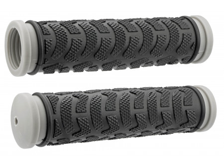 Stūres rokturi Azimut MTB Rock 130mm black-grey (1021)