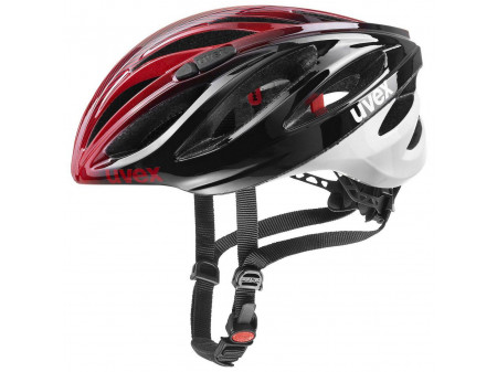 Velo ķivere Uvex Boss Race black red