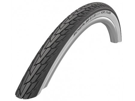 "Riepa 28"" Schwalbe Road Cruiser HS 484, Active Wired 42-622 GreenCompound Whitewall"