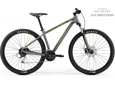 Velosipēds Merida BIG.NINE 100 2019 matt grey