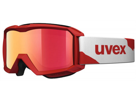 Brilles Uvex Flizz LM red mat