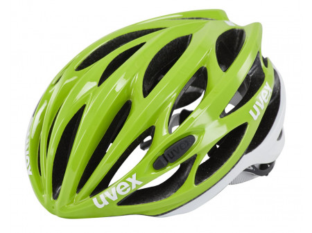 Velo ķivere Uvex Race 1 green-white
