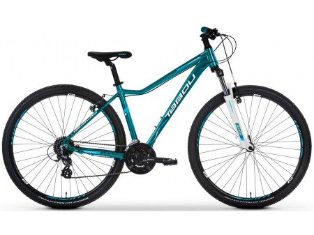 Velosipēds Tabou Wizz 29 1.0 turquoise-white-blue