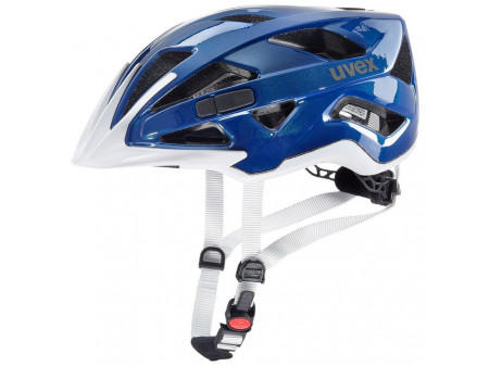 Velo ķivere Uvex Active blue white