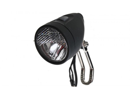 Priekšējais lukturis X-Light 3W 20 LUX 1LED dynamo ON/OFF