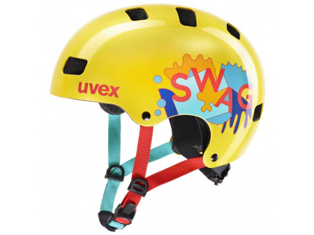 Velo ķivere Uvex Kid 3 yellow