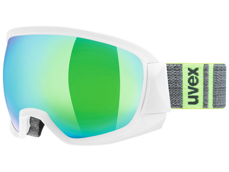 Brilles Uvex Contest FM white mat / green