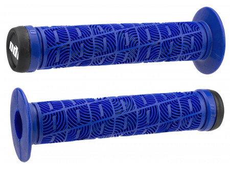 Stūres rokturi ODI O Grip BMX 143mm Single Ply Bright Blue