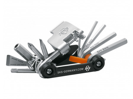 Atslēgu komplekts SKS Tom 18in1 MultiTool foldable