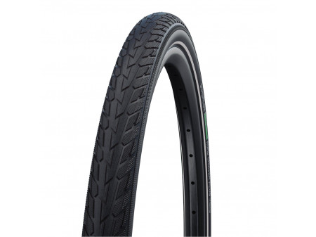 "Riepa 28"" Schwalbe Road Cruiser Plus HS 484, Active Wired 50-622 GreenCompound Reflex"