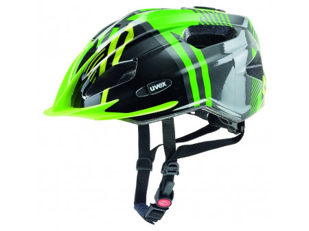 Velo ķivere Uvex Quatro Junior green-anthracite