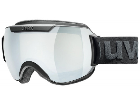 Brilles Uvex Downhill 2000 black mat / mirror silver-clear
