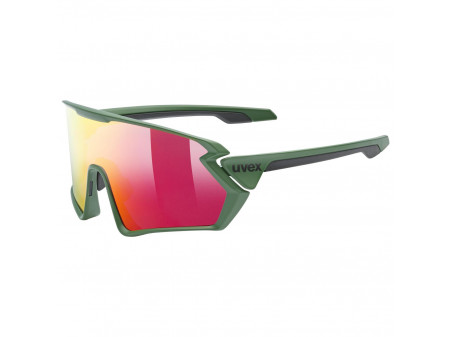 Brilles Uvex Sportstyle 231 forest mat / mirror red
