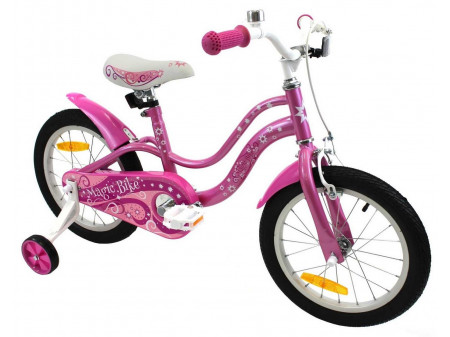 "Velosipēds Magic Bike Pinki 16"" 2019 pink pink"