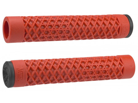 Stūres rokturi ODI Cult/Vans BMX Grip (Flangeless) 143mm Single-Ply Red