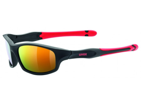 Brilles Uvex Sportstyle 507 black mat red