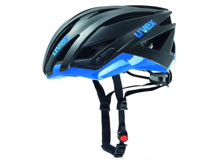 Velo ķivere Uvex Ultrasonic Race black mat-blue