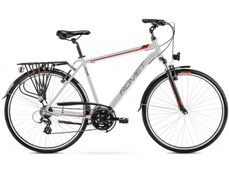 Velosipēds Romet Wagant 1 2021 silver-red