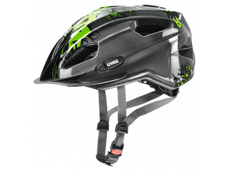 Velo ķivere Uvex Quatro Junior anthracite-green