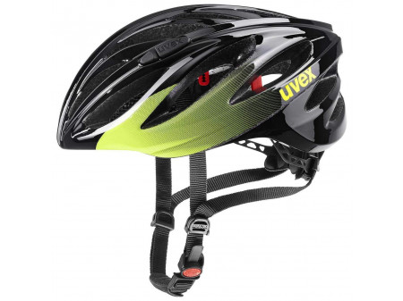 Velo ķivere Uvex Boss race lime-anthracite
