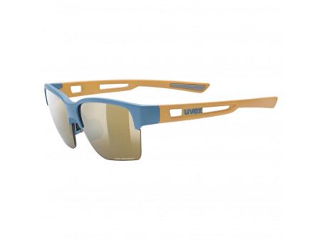 Brilles Uvex Sportstyle 805 CV blue sand mat / champagne