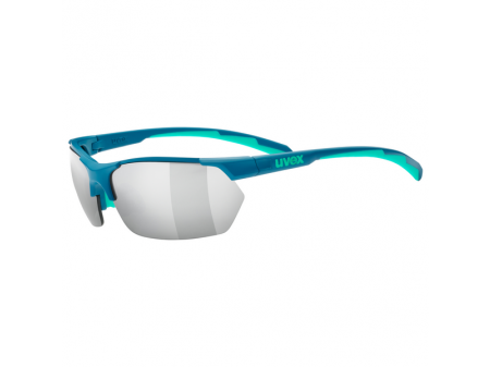 Brilles Uvex Sportstyle 114 green turqouise mat