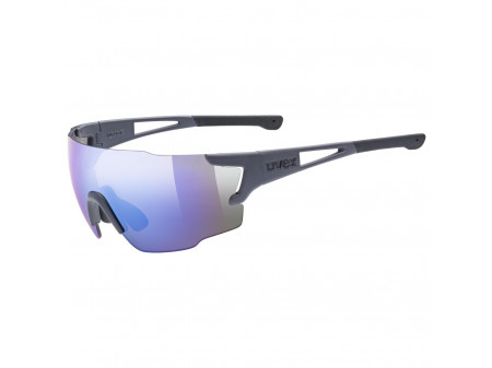 Brilles Uvex Sportstyle 804 dark grey mat / mirror blue