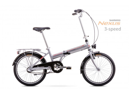 Velosipēds Romet Wigry 3 2019 silver-red