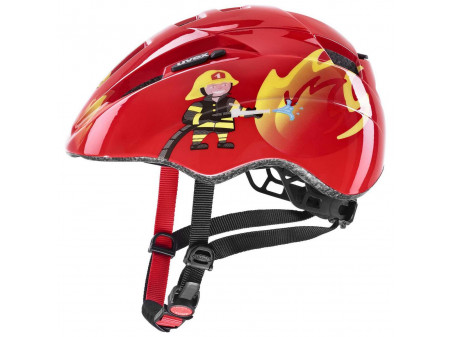 Velo ķivere Uvex Kid 2 red fireman