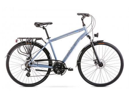 Velosipēds Romet Wagant 2 2020 silver-blue