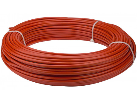 Bremzes trose apvalks Saccon Italy 5mm lubricated RED (1m)