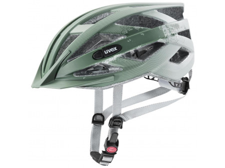 Velo ķivere Uvex Air wing cc papyrus-moss green mat
